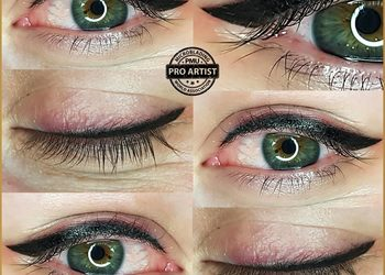 Monika Sekulska Permanent Makeup - eyeliner klasyczna kreska