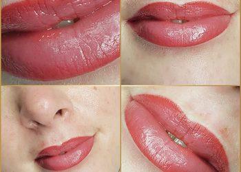 Monika Sekulska Permanent Makeup - usta nowe cieniowane