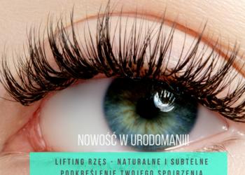 Studio Kosmetyczne URODOMANIA - lifting rzęs