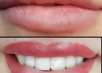 Monika Sekulska Permanent Makeup - usta  uzupełnienie makijażu