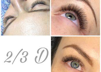 AK makeup&beauty - przedłużanie rzęs 2/3d u instruktora(aldona)