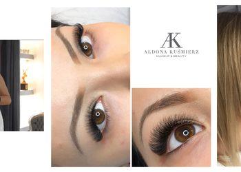 AK makeup&beauty - przedłużanie rzęs 4/8 d u instruktora (aldona)
