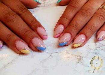 Alchemia Piękna - przedłużanie paznokci żelem na formie (kolor)