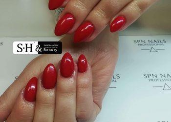 SH-Beauty Centrum Kosmetologii i Makijażu Permanentnego - paznokcie żelowe na naturalnej płytce