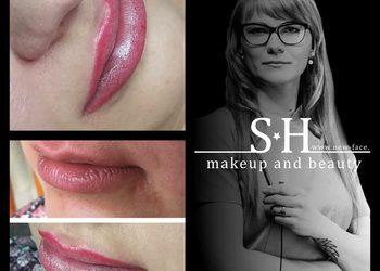 SH-Beauty Centrum Kosmetologii i Makijażu Permanentnego - usta full lips (kontur plus wypełnienie)