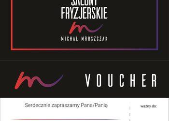 Salony fryzjerskie MICHAŁ MROSZCZAK Beauty&SPA - voucher