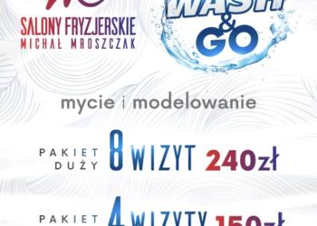 Salony fryzjerskie MICHAŁ MROSZCZAK Beauty&SPA - wash & go 150