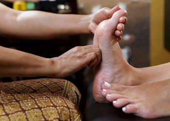 Bo jesteś wyjątkowa - masaż stóp