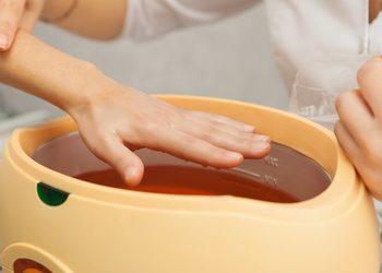 Gabinet Kosmetologii i Medycyny Estetycznej New Look - kąpiel parfinowa dłoni