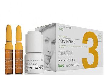 BEAUTY PREMIUM Kosmetologia Estetyczna - inno-exfo depitach-3 zabieg + krem dark spot / inny niz cosmelan