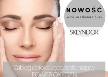 Studio Kosmetyczne URODOMANIA - power oxygen zabieg dotleniający, anty-pollution