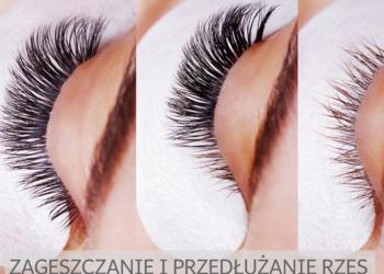 Studio Kosmetyczne URODOMANIA - przedłużanie i/lub zagęszczanie rzęs dowolną