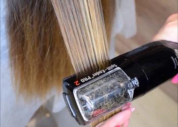 Glamour Instytut Urody - polerowanie włosów