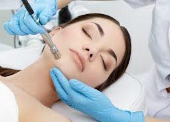 SC Beauty Clinic na Saskiej - mikrodermabrazja twarz, szyja, dekolt z ampułką i maską